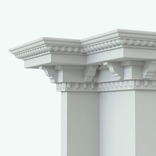 Revit Family / 3D Model - Crown Moulding 6