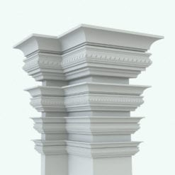 Revit Family / 3D Model - Complex Moulding 5 Variations