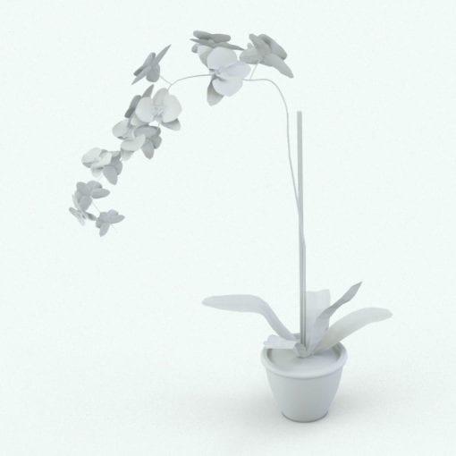 Revit Family / 3D Model - Orchid Perspective