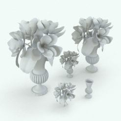 Revit Family / 3D Model - Magnolia Variations