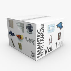 Revit Family / 3D Model - Parametric Revit Families Volume 1